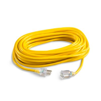 50' High Visibility & Low Temperature Extension Cord