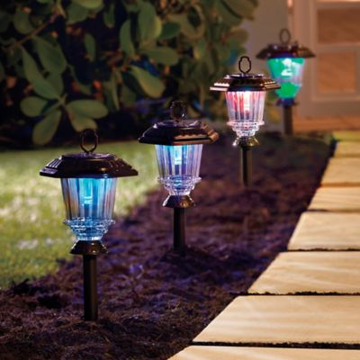 LED Solar Path Lights-Set of 4