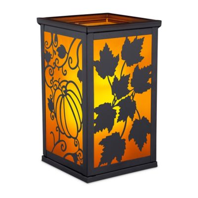Flameless Candle Lantern with Interchangeable Scenes