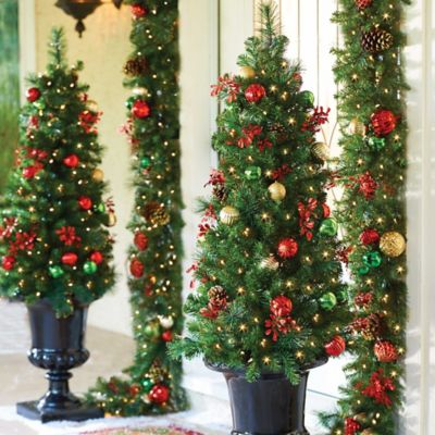 4' Pre-Lit Merry & Bright Artificial Christmas Tree