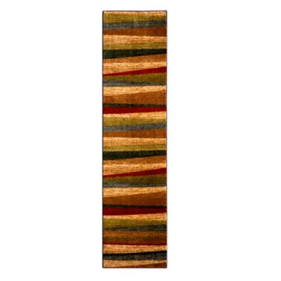 Sunset Stripe Area Rugs