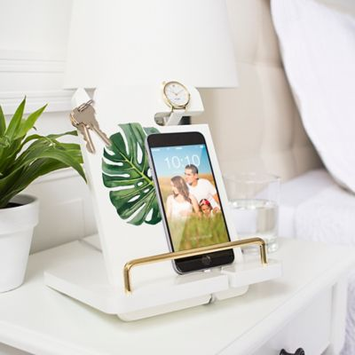 Palm Leaf Smartphone & Tablet Docking Station