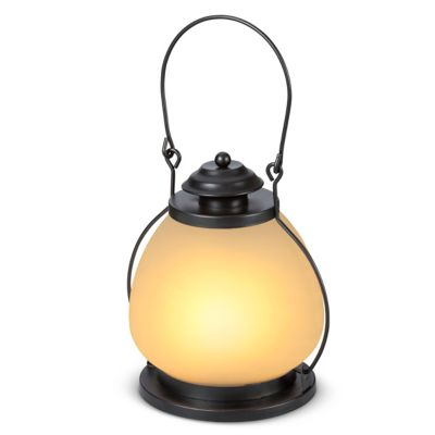 FireGlow LED Metal Lanterns