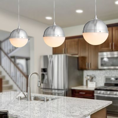 Dipped Globe Instant Pendant Light