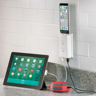 Multi Device Wall Outlet Charging Station
