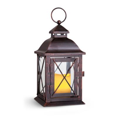 Colonial Indoor/Outdoor LED Candle Lanterns