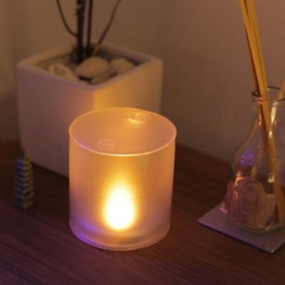 Inflatable Solar LED Candle