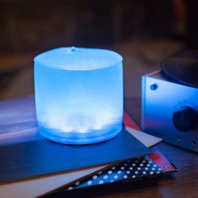 Inflatable Color-Changing Solar LED Lantern