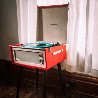 Crosley Dansette Bermuda Vinyl Turntable with Stand