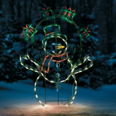 Proline Animated Juggling Snowman LED Outdoor Christmas