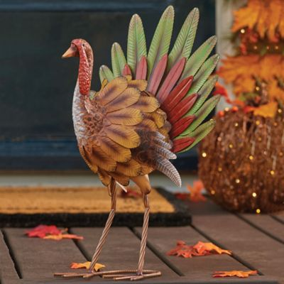Iron Turkey Thanksgiving Decoration