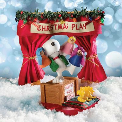 Pawpet Show Snoopy Christmas Decoration