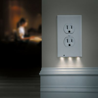 Night Angel LED Night Light Outlet Cover