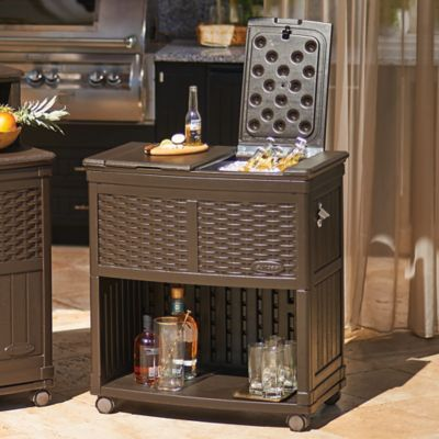 Suncast Patio Cooler Cart