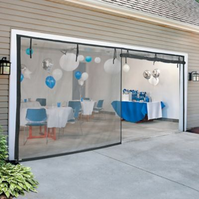 Zippered Garage Door Screens
