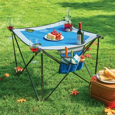 Folding Portable Wine Table
