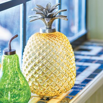 Glass Pineapple Fruit Fly Trap
