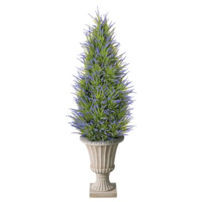 "38"" Artificial Lavender Tree"
