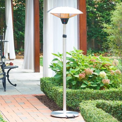 Telescoping Electric Patio Heater with Remote