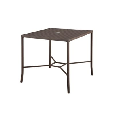 Ellicott Metal High-Top Dining Table