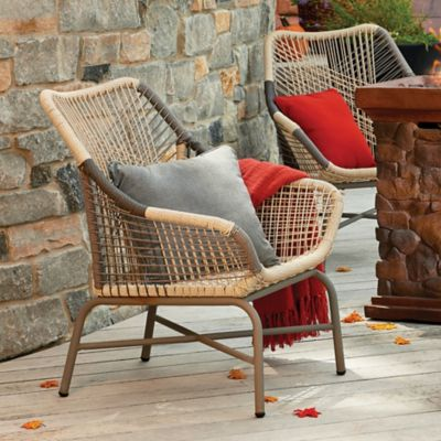Saratoga Resin Wicker Accent Chair