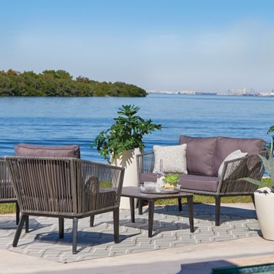 Bertolia Mid-Century Modern Patio Furniture