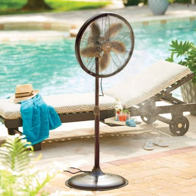 Oscillating Outdoor Misting Fan