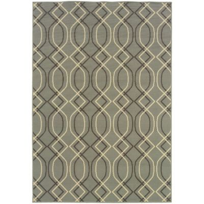 Lovina Grey Zig Zag Indoor/Outdoor Rugs