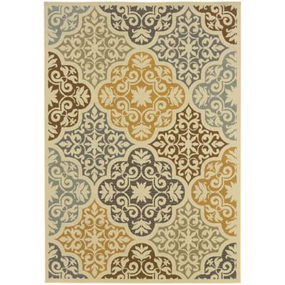 Lovina Multi Tile Indoor/Outdoor Rugs
