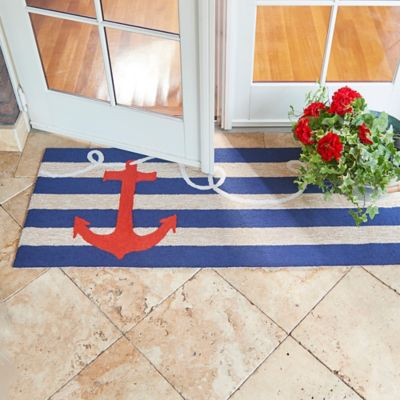 Maritime Anchor Nautical Rugs