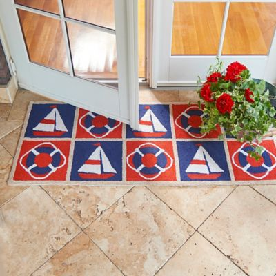 Maritime Patchwork Nautical Rugs