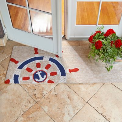Maritime Wheel Nautical Rugs