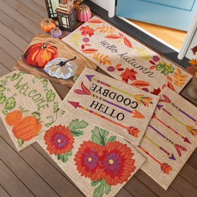 Harvest Welcome Rugs
