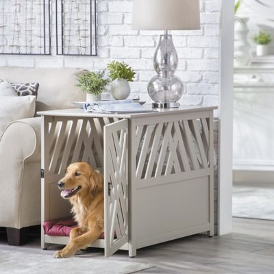 Winston Lattice Pet Crate End Table