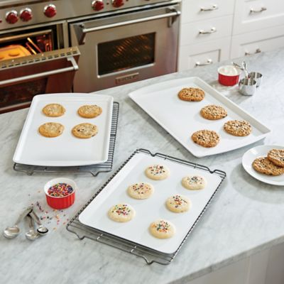 CeramaBake 3-Piece Cookie Sheet Set