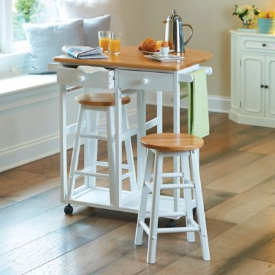 Fairfield Drop Leaf Kitchen Cart