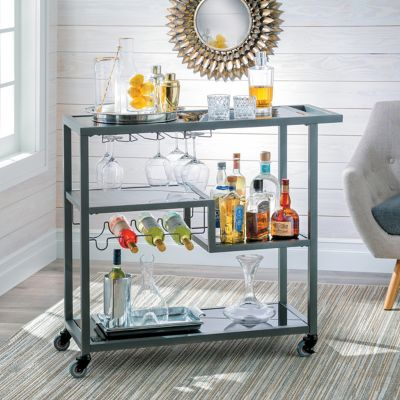 Lautner Mid Century Bar Cart