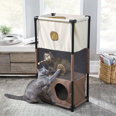 Soft Sided Portable Cat Condo