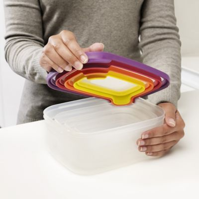 4-Piece Nested Food Storage Container Set