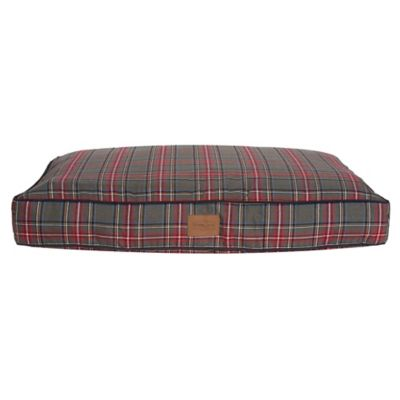 Gray Stewart Plaid Dog Beds