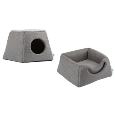 2-in-1 Cat Bed and House