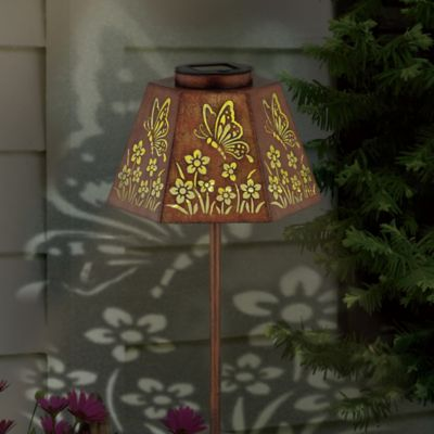 Butterfly Solar Path Light