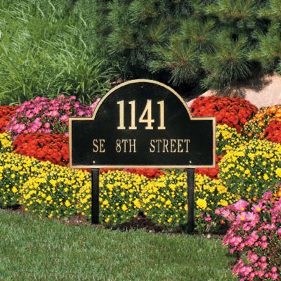 Arch Address Plaques