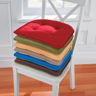 Twill Tufted Chair Pads