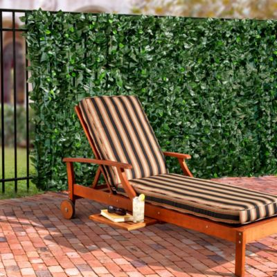 Faux Pothos Leaves Privacy Screen
