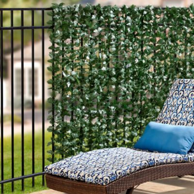 Faux Double Leaves Privacy Screen
