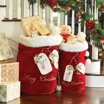 Santa Bag with Personalization
