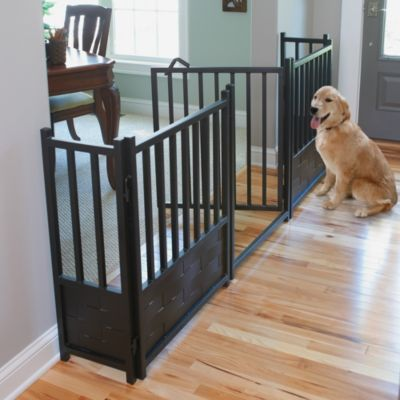 Royal Weave Freestanding Pet Gate, Door, & Side