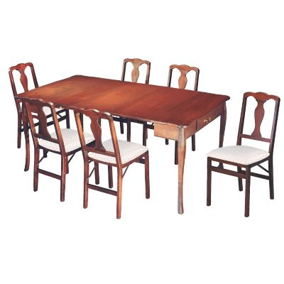Manor 3-in-1 Expanding Dining Table & Chairs