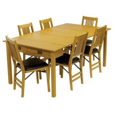 Mesa 3-in-1 Expanding Dining Table & Chairs